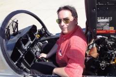 En la carlinga de un F-18