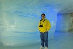 En el Jungfraujoch, Suiza, 2010