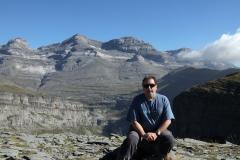 Miradores de Ordesa, al fondo Monte Perdido, 2018