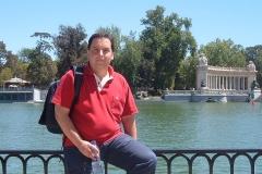 En el Parque del Retiro, 2004