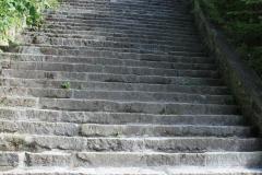 Mauthausen, escalera de la muerte