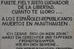 Mauthausen, memorial a los españoles asesinados