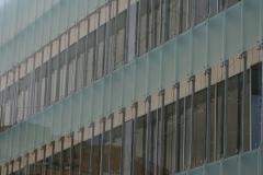 Obras del antiguo Banco de España en Huesca