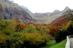 Valle de Pineta, Otoño