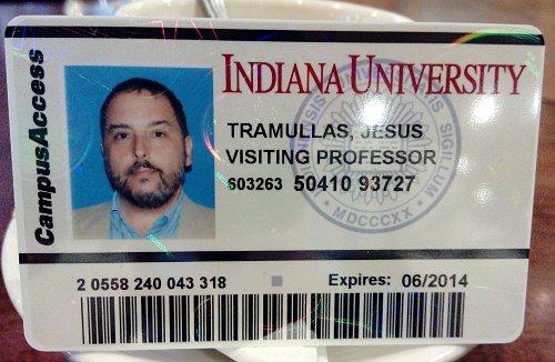 Mi Indiana University ID...