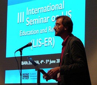 En el III International Seminar on LIS Education and Research (LIS-ER)