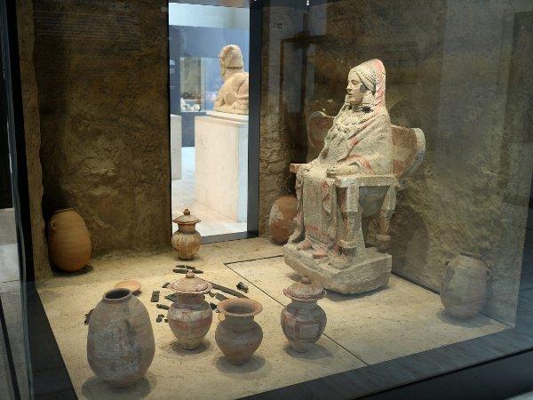 Escultura ibérica en el Museo Arqueológico Nacional, 2