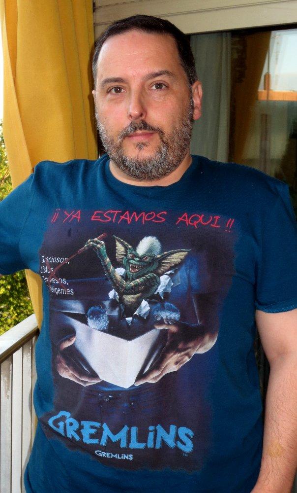 ¿De verdad tienes una camiseta de Gremlins? Pues sí...