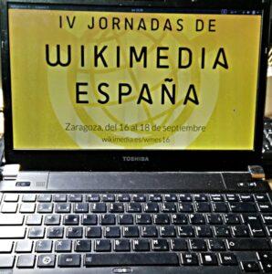 En las IV Jornadas de Wikimedia España
