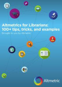 Altmetrics for Librarians, texto a revisar